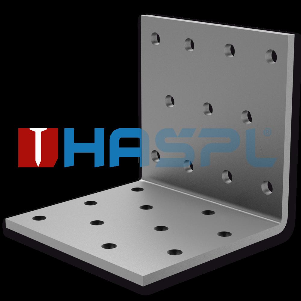 Tesařský úhelník 90° Typ1 60x60x60x2,0 mm žárový zinek
