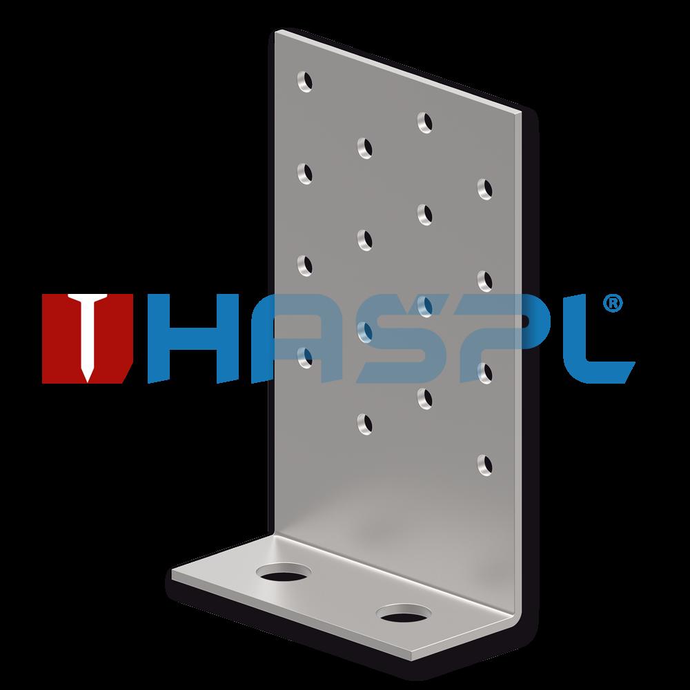 Tesařský úhelník 90° Typ8 40x35x205x3,0 mm žárový zinek